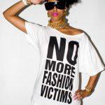 Katharine Hamnett No More Fashion Victims Tee
